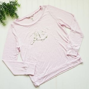 Victoria's Secret Pink Love Soft Long Sleeve Tee S